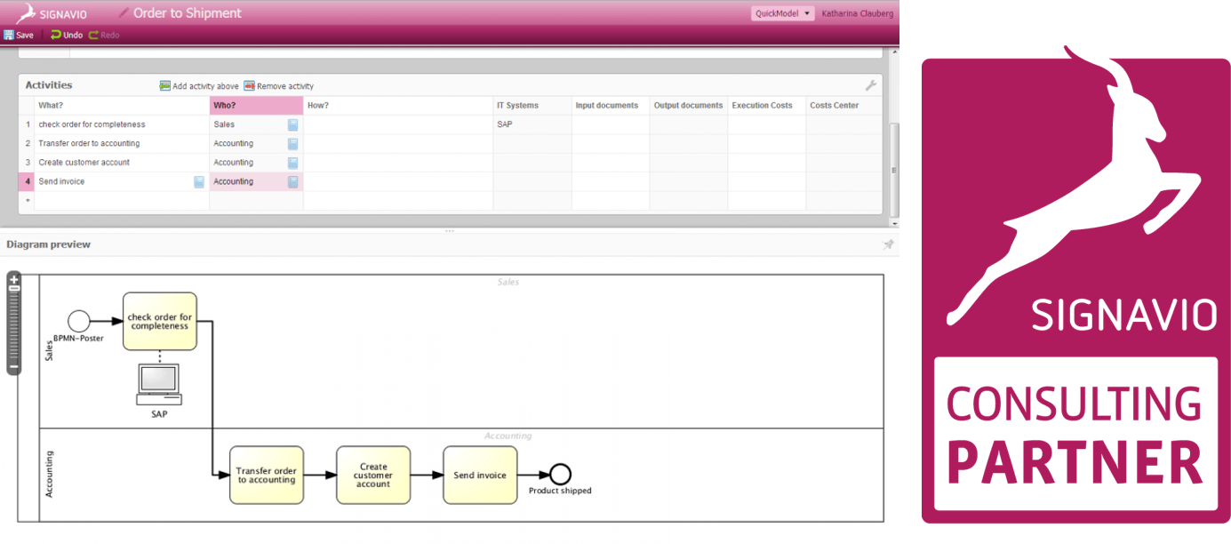 is a leading cloud based saas or on premises software that features professional process design including conformance to bpmn 20 standard - Bpmn Simulation